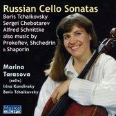 Russian Cello Sonatas
