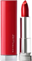 Maybelline Color Sensational Made For All Lippenstift - 385 Ruby For Me - Rood - Glanzend