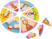 Small Foot - Knopjespuzzel - Jongens en meisjes - Geel