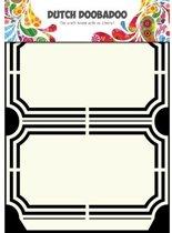 Dutch Doobadoo Dutch Shape Art frames verpakking ticket A5
