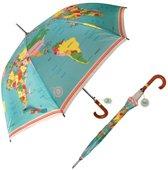 Wereldkaarten.nl - Paraplu met wereldkaart