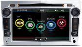 Opel astra GTC DAB+ look autoradio met navigatie usb aux touchscreen Zilver
