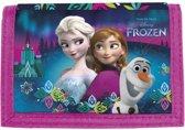 Disney Frozen IJsbloemen - Portemonnee - 12 x 8 cm - Multi