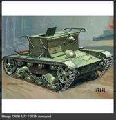 Mirage-Hobby 72606 T-26TN Armoured observation post
