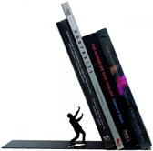 Artori Design Falling Bookend - Boekensteun - Zwart - Metaal
