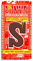 Tony's Chocolonely Letterreep S - Melk Karamel met Zeezout - 180 gram