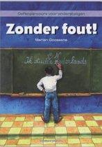 Boek cover Zonder fout! van M. Goossens