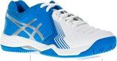 Asics Gel-Game 6 Tennisschoenen - Maat 37.5 - Vrouwen - blauw/wit