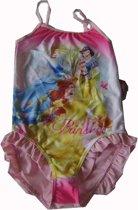 Badpak van Disney Prinsessen maat 104, lichtroze