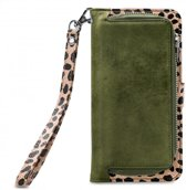 Mobilize 2in1 Gelly Wallet Zipper Case Samsung Galaxy S10 Plus Olive/Leopard