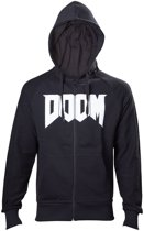 Doom Next Gen Logo Black Hoodie 2XL