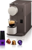Nespresso De'Longhi Lattissima One EN500.BW - Koffiecupmachine - Mocha Brown