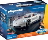 PLAYMOBIL: THE MOVIE Rex Dasher's Porsche Mission E - 70078