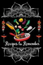 Recipes to Remember