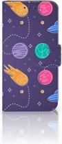 Samsung Galaxy S10e Uniek Boekhoesje Space