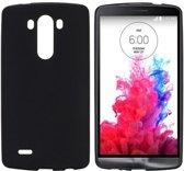 LG Optimus G3 - hoes cover case - TPU - Mat - zwart