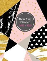 Three Year Planner 2019 - 2021 Mukhtar