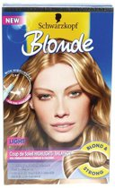 Schwarzkopf Blonde Coup de soleil Highlights light - Haarverf