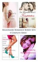 Billionaire Romance Boxed Sets: The Billionaire's Pregnant Secretary\\The Billionaire Boss's Temptation\\The Shopaholic and the Billionaire\\Claimed by the Alpha Billionaire
