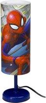 Spider-man tafellamp 29cm Blauw