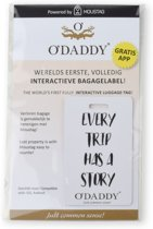 O'DADDY - Interactief bagage label - Every trip has a story -