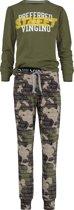 Vingino Jongens Pyjama - Camouflage Green - Maat 116