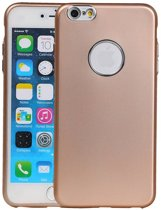 Wicked Narwal | Design backcover hoes voor iPhone 6 / 6s Plus Goud
