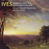 Ives: Symphonies Nos. 1 & 4, Central Park In The D