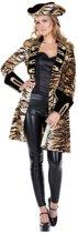 Leeuw & Tijger & Luipaard & Panter Kostuum   Jas Tijger Piraat Vrouw   Maat 46   Carnaval kostuum   Verkleedkleding