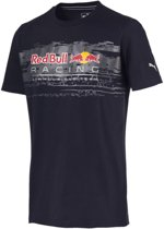 PUMA Red Bull Racing Logo Tee Heren - Night Sky