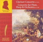 Mozart: Clarinet Concerto; Concerto for Flute, Harp and Orchestra