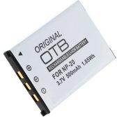 OTB Accu Batterij Casio NP-20 - 500mAh
