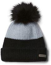 Columbia Winter Blur Pom Pom Beanie Muts - Cirrus Grey/Bl - Cirrus Grey/Bl - One size