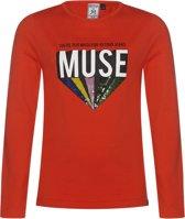 Retour Jeans Meisjes T-shirt - Flame orange - Maat 152/158