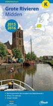 ANWB waterkaart K - Grote rivieren Midden-2015-2016