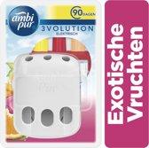 Ambi Pur Elektrische luchtverfrisser - Exotische Vruchten geur - startverpakking
