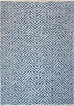 Kayoom - Vloerkleed - Tapijt - Aperitif 410 - Blauw - 160x230cm