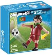 Playmobil Voetbalspeler Portugal - 4734