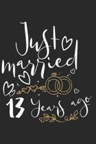 Just Married 13 Years Ago