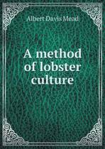 A Method of Lobster Culture