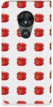 Motorola Moto G7 Power Standcase Hoesje Design Paprika Red