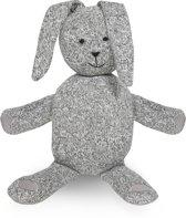 Jollein Stonewashed Knit - Knuffel XL Konijn - Grijs