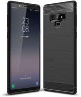 Samsung Galaxy Note 9 hoesje - Rugged TPU Case - zwart