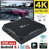 X96 max 4 gb ddr mediaplayer Android 8.1 & Kodi 18.1 Leia powered by tvtricks.nl