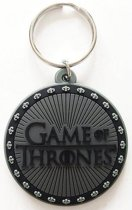 Game of Thrones Logo Rubber Keychain