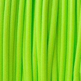 Paracord 550 Neon Green - Type 3 - 20 meter - #2