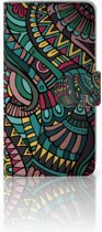 LG Q6 | LG Q6 Plus Boekhoesje Design Aztec