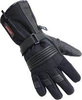 Motorhandschoenen leder winter zwart maat M