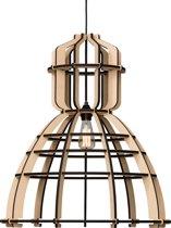 Het Lichtlab No.19XL - Industrielamp - Hanglamp - MDF - Nu met GRATIS Philips LED globe lamp!