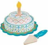 Bright Tiered Celebration Cake
